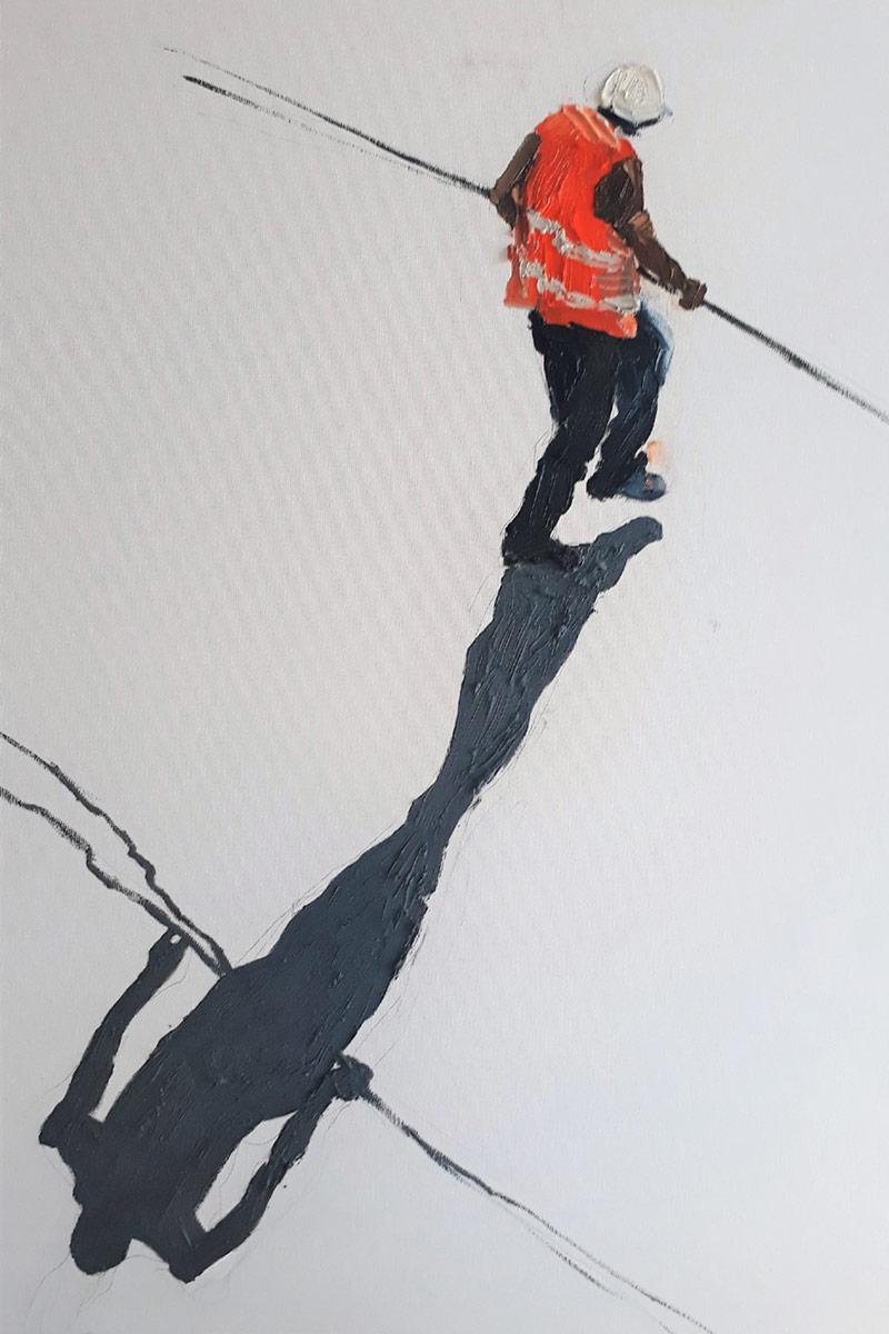 Sarah Muscalu: The Paradox of White Work