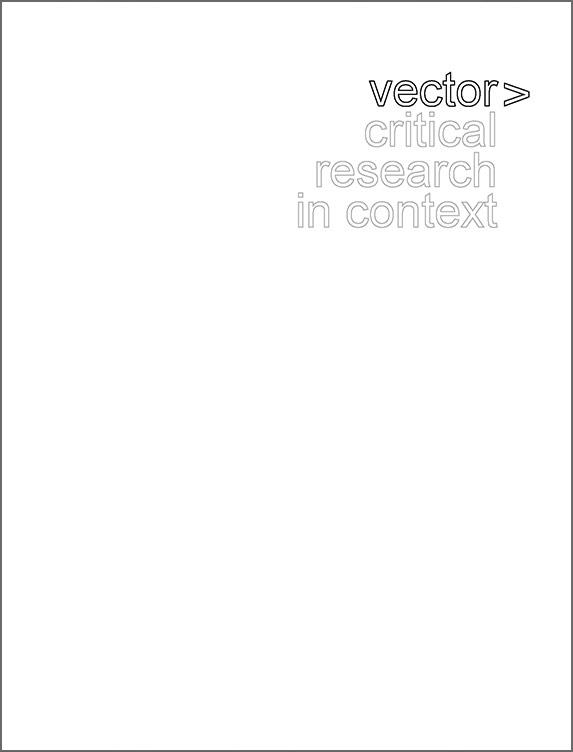 VECTOR - 2010 - Frieze Projects